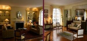 Rénovation d'un appartement et salon d'époque à Lyon