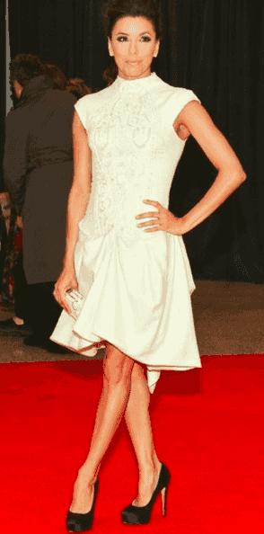 La robe de soirée d'Eva Longoria au dîner des correspondances de la maison blanche