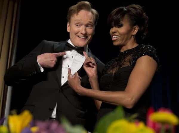 La robe de soirée de la première dame, Michel Obama