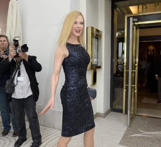 Magnifique Nicole Kidman dans une autre robe de soirée Dior