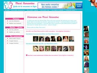 Site de rencontre Maxi Rencontre