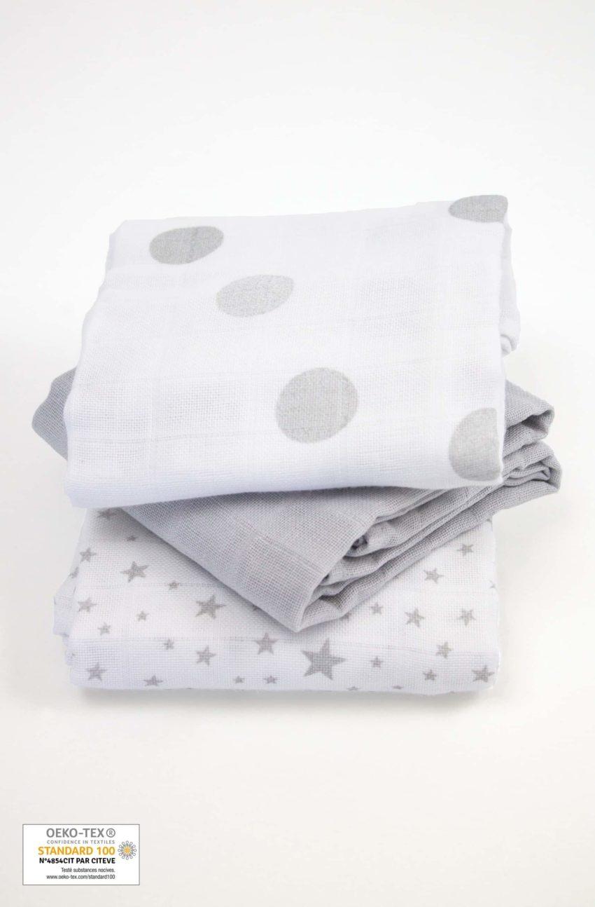 Des langes en coton bio ultra doux pour bébé